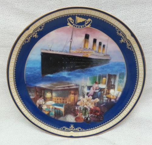 Bradford Exchange Titanic Plate Ebay