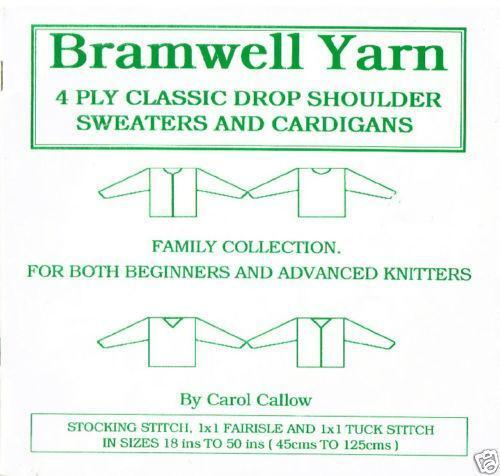 Machine Knitting Patterns Ebay