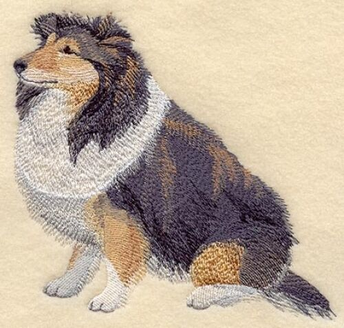 Embroidered Fleece Jacket - Shetland Sheepdog Sheltie C5087 Sizes S - XXL