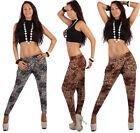 Leopard Damenhosen