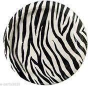 Zebra Print Birthday Party Supplies
