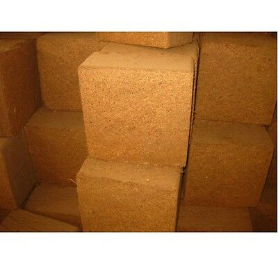 COIR BLOCKS 10 x 70l plus Fertiliser to make peat free compost