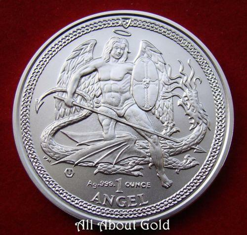 Silver Angel Coin Ebay