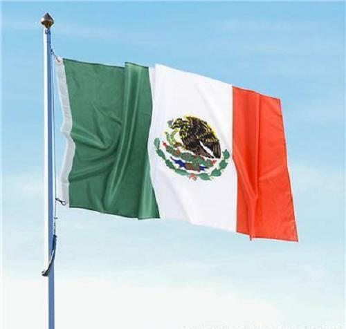 2 MEXICAN FLAGS 3 x 5 Indoor Outdoor Banner Pennant Soccer #ST31 Free Shipping