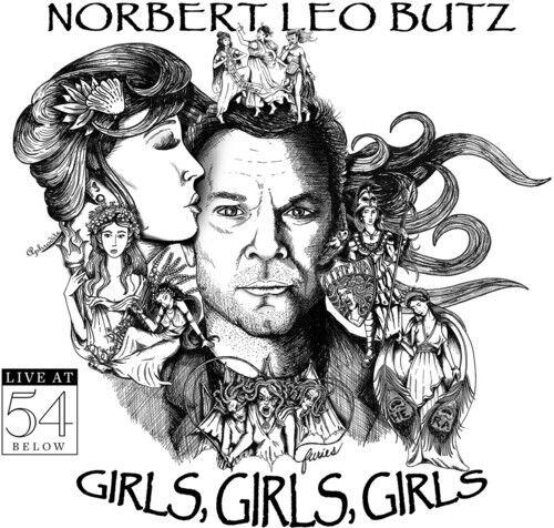 Norbert Leo Butz - Girls Girls Girls - Live At 54 Below [New CD]