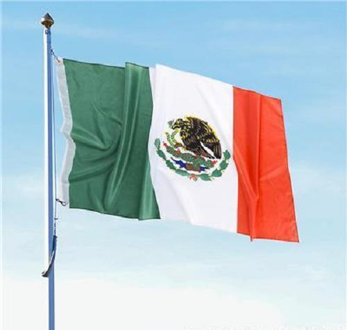 MEXICAN FLAG 3 x 5 Indoor Outdoor Banner Pennant Soccer #ST31 Free Shipping