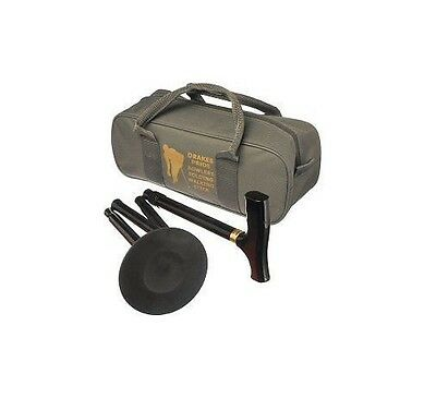 Drakes Pride Folding Bowls Walking Stick With Carry Bag For Crown Green Bowling