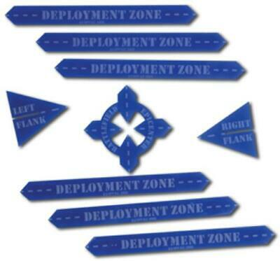 GF9 Gaming Accessory  Game Pack #3 - Deployment Zones New