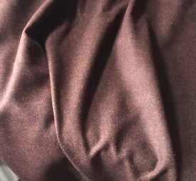 6m brown wool suiting fabric