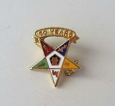 EASTERN STAR 50 Year Member Masonic Award Lapel Pin OES for sale  Shipping to Canada