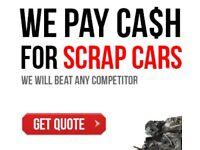 SCRAP CARS & VANS COLLECTED 4 CASH TODAY