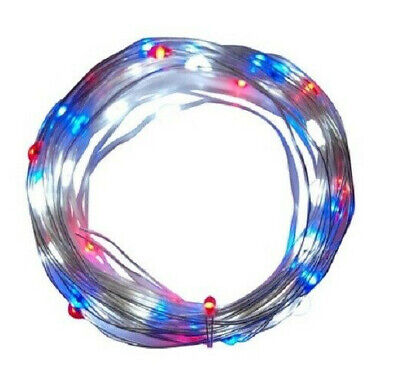 Holiday Micro Lights Red, White, and Blue, 60ct Holiday Brilliant (2PK)](Red White And Blue Lights)