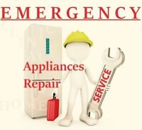 EMERGENCY SERVICE ° APPLIANCES REPAIR ° SERVICE CALL 40$