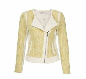 REDUCED Size Small - Printed Knit Moto Blazer (NEW) London Ontario image 1