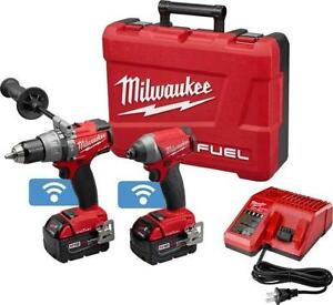 Milwaukee (2796-22) M18 FUEL 2-Tool brushless Combo Kit with ONE-KEY (BRAND NEW) $449.99