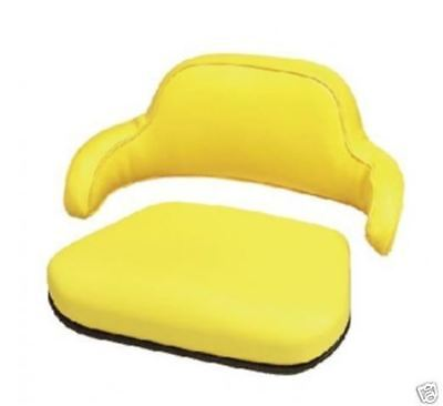 2 Piece Yellow Seat Cushion Set John Deere203020402440264023502550jd Lc