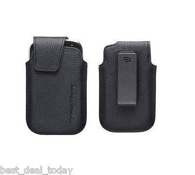 Blackberry Leather Swivel Pouch Case For Bold Touch 9930 ...