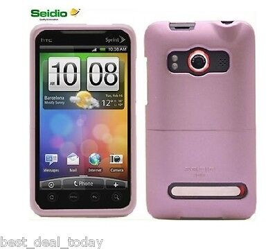SEIDIO Innocase Ii Case For Htc Evo 4g Sprint Rose Pink