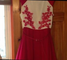 Little Mistress pink dress size 16