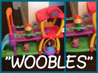 "The Wobbles Activity Centre including three ""wobbles"""