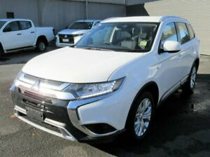 2020 Mitsubishi Outlander ZL MY20 ES 2WD White 6 Speed Constant Variable Wagon Lilydale Yarra Ranges Preview