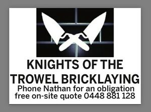 KNIGHTS OF THE TROWEL BRICKLAYING Frankston Frankston Area Preview