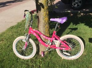 ages 4-7 yrs Barbie bike