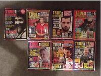 True Crime Magazines Job Lot