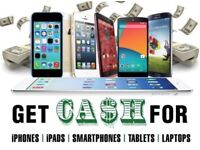 CASH PAID FOR PHONES