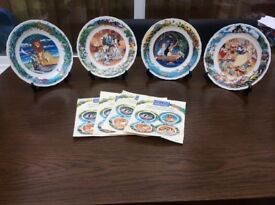 Wedgwood Disney collection plates