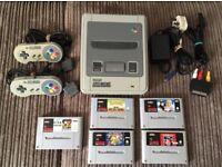 Super Nintendo Bundle SNES