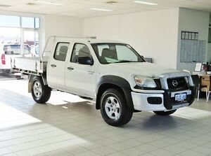 2010 Mazda BT-50 09 Upgrade Boss B3000 DX (4x4) White 5 Speed Manual Dual Cab Pick-up Morley Bayswater Area Preview