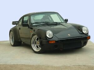 1983 Porsche 930 Turbo Black 5 Speed Manual Coupe