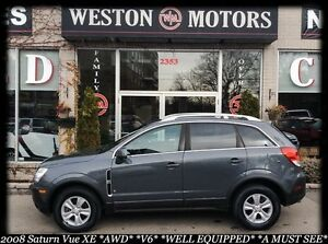 2008 Saturn Vue XE*AWD*V6*FINANCE HERE! 100% APPROVED!