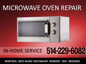 Microwave ovens in-home full service