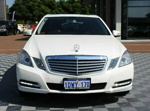2012 Mercedes-Benz E200 W212 MY12 BlueEFFICIENCY 7G-Tronic + Elegance White 7 Speed Sports Automatic Alfred Cove Melville Area Preview