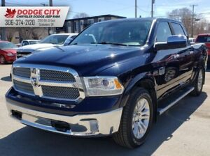 2013 Ram 1500 Laramie Longhorn | Leather, SRoof, Bup Cam