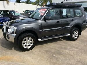 2013 Mitsubishi Pajero NW MY13 GLX-R Grey 5 Speed Sports Automatic Wagon Currimundi Caloundra Area Preview