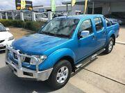 2009 Nissan Navara D40 ST-X Blue Automatic Utility Garbutt Townsville City Preview