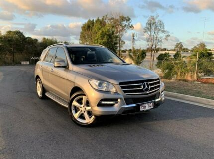 2012 Mercedes-Benz M-Class W166 Grey 7 Speed Sports Automatic Wagon Darra Brisbane South West Preview