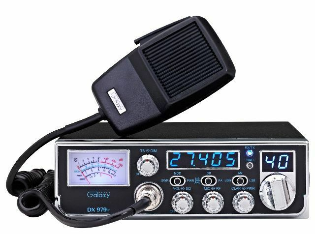 Galaxy DX-979F 40 Channel AM/SSB Mobile CB Radio w/Starlite Faceplate SWR Meter. Buy it now for 189.00