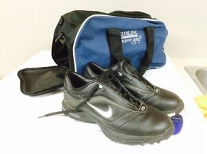 Men's size 8.5 Nike golf shoes bag included. Cambridge Kitchener Area image 3