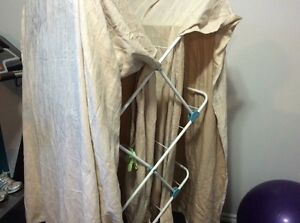 4 Panels of Suede Image Curtains