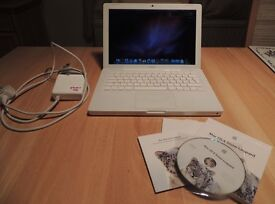 """Apple MacBook 13"""" white with new battery"""