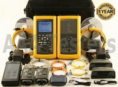 Fluke Dsp-4000 Cat6 Sm Mm Fiber Cable Tester Dsp4000