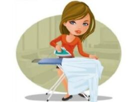 Ironing and cleaning