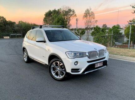 2014 BMW X3 F25 LCI MY0414 xDrive20d Steptronic White 8 Speed Automatic Wagon Darra Brisbane South West Preview