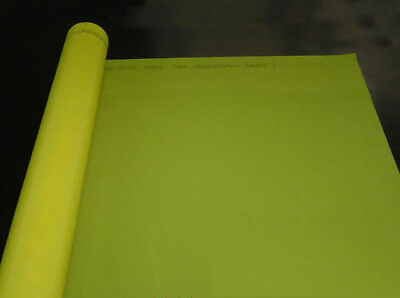 3 Yards Screen Printing Screen Mesh 200m80t Yellow Screen Fabric Width50