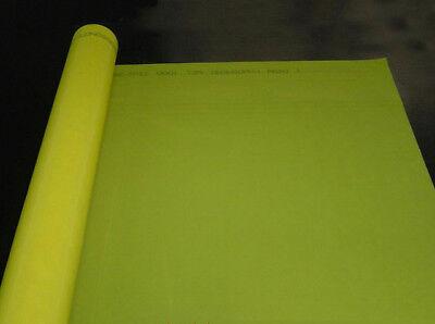 3 Yards Screen Printing Screen Mesh 200m80t Yellow Screen Fabric Width50