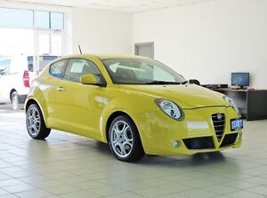 2013 Alfa Romeo Mito Progression Yellow 6 Speed Auto Dual Clutch Hatchback Morley Bayswater Area Preview